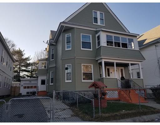 Maison avec plusieurs logements pour l Vente à 123 Osgood Street 123 Osgood Street Lawrence, Massachusetts 01843 États-Unis