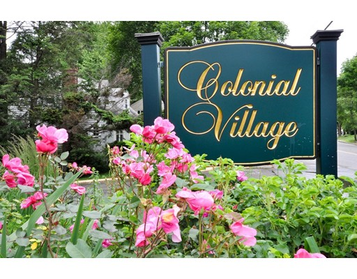 Condominium for Sale at 7 Colonial Village Drive 7 Colonial Village Drive Arlington, Massachusetts 02474 United States