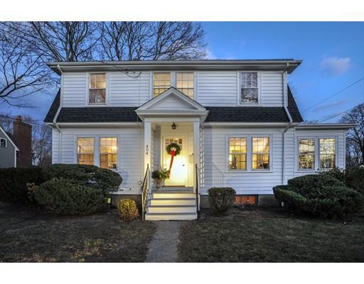独户住宅 为 销售 在 454 Main Street 454 Main Street 欣厄姆, 马萨诸塞州 02043 美国