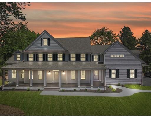 Maison unifamiliale pour l Vente à 1 Francis Street 1 Francis Street Dover, Massachusetts 02030 États-Unis
