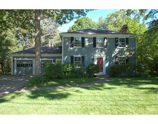 Casa Unifamiliar por un Alquiler en 20 Northgate Road 20 Northgate Road Wellesley, Massachusetts 02481 Estados Unidos