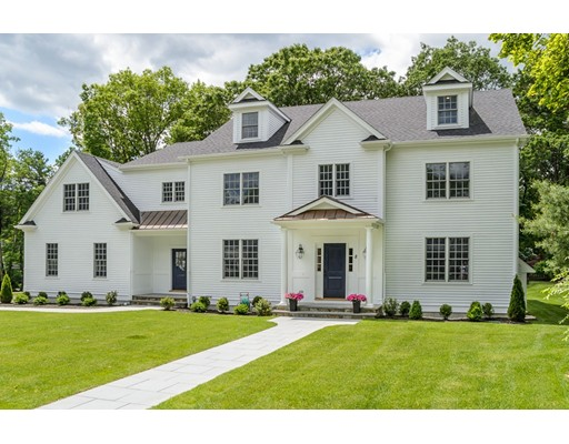 Single Family Home for Sale at 8 Wynnewood Road 8 Wynnewood Road Wellesley, Massachusetts 02481 United States