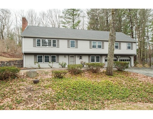 Single Family Home for Rent at 43 Hallett Hill Road 43 Hallett Hill Road Weston, Massachusetts 02493 United States