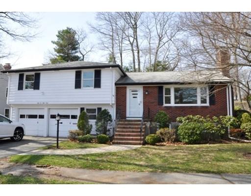 Частный односемейный дом для того Аренда на 66 Tudor Road 66 Tudor Road Needham, Массачусетс 02492 Соединенные Штаты