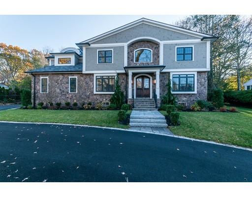 Частный односемейный дом для того Продажа на 501 Dudley Road 501 Dudley Road Newton, Массачусетс 02459 Соединенные Штаты