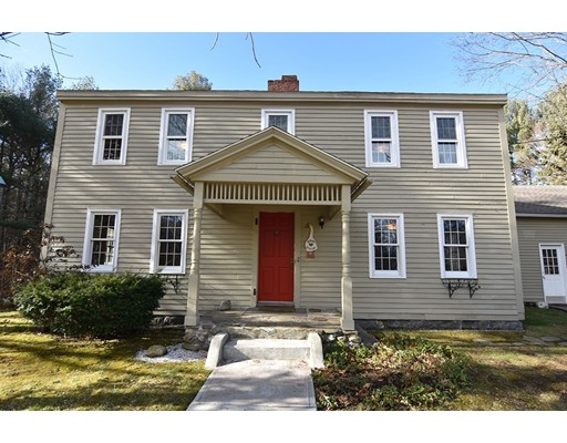 Single Family Home for Sale at 246 Brooks Station Road 246 Brooks Station Road Princeton, Massachusetts 01541 United States