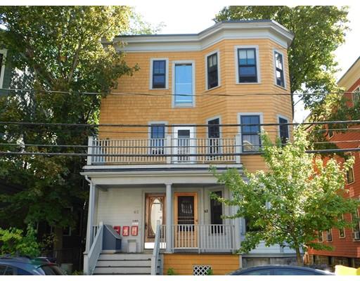 Single Family Home for Rent at 63 Pemberton Street Cambridge, Massachusetts 02140 United States
