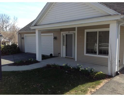 Appartement en copropriété pour l Vente à 21 Cherry Dr #21 21 Cherry Dr #21 Wilbraham, Massachusetts 01095 États-Unis