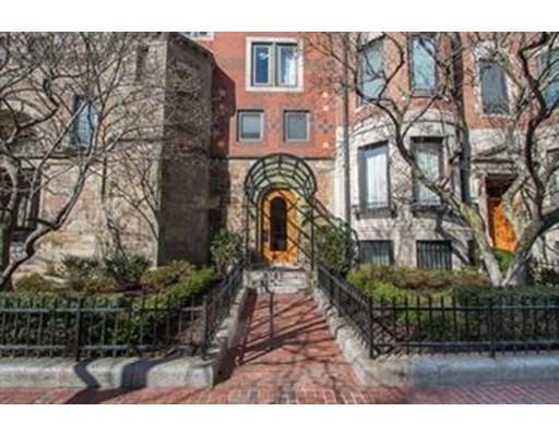 Appartement en copropriété pour l Vente à 492 Beacon Street 492 Beacon Street Boston, Massachusetts 02115 États-Unis