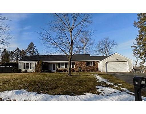 Частный односемейный дом для того Продажа на 94 Ridge Road 94 Ridge Road East Longmeadow, Массачусетс 01028 Соединенные Штаты