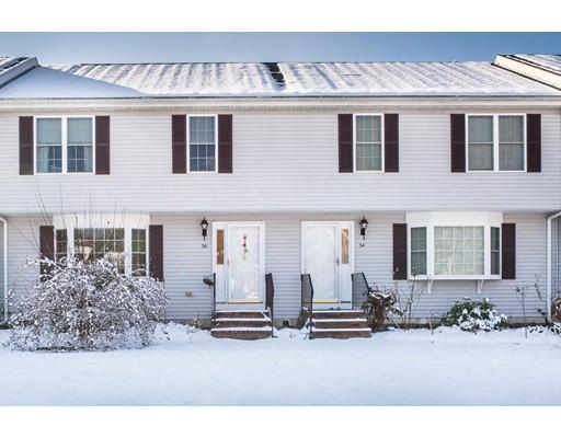 Appartement en copropriété pour l Vente à 36 Old Plymouth Street 36 Old Plymouth Street East Bridgewater, Massachusetts 02333 États-Unis