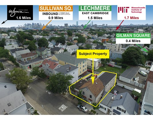 Multi-Family Home for Sale at 134 Pearl Street 134 Pearl Street Somerville, Massachusetts 02145 United States