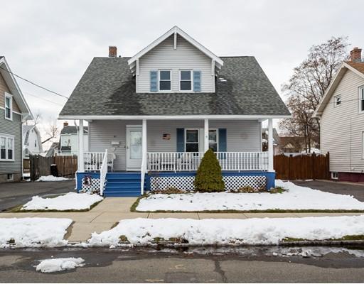 独户住宅 为 销售 在 62 Davenport Street 62 Davenport Street Chicopee, 马萨诸塞州 01103 美国