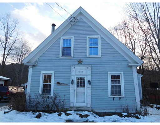 独户住宅 为 销售 在 1235 Main Street Warren, 01083 美国