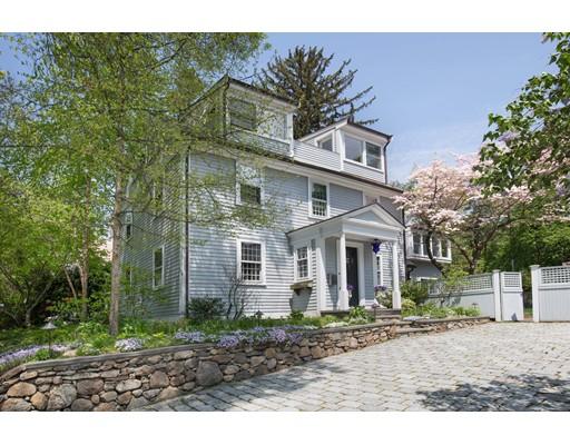 Частный односемейный дом для того Продажа на 173 Coolidge Hill 173 Coolidge Hill Cambridge, Массачусетс 02138 Соединенные Штаты