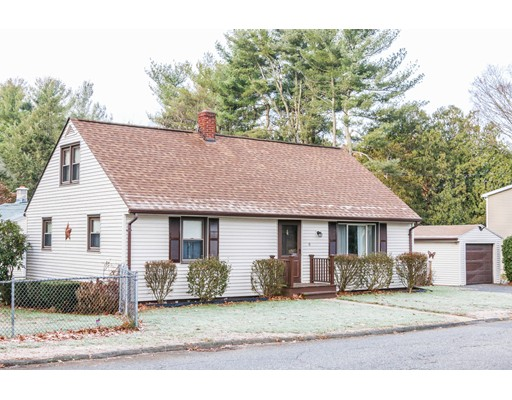 Single Family Home for Sale at 6 Birchland Avenue 6 Birchland Avenue East Longmeadow, Massachusetts 01028 United States