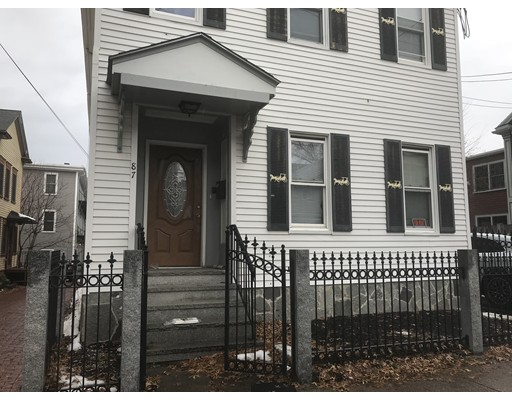 Multi-Family Home for Sale at 87 Gore Street 87 Gore Street Cambridge, Massachusetts 02141 United States