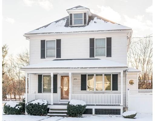 واحد منزل الأسرة للـ Sale في 215 Arlington Street 215 Arlington Street Dracut, Massachusetts 01826 United States