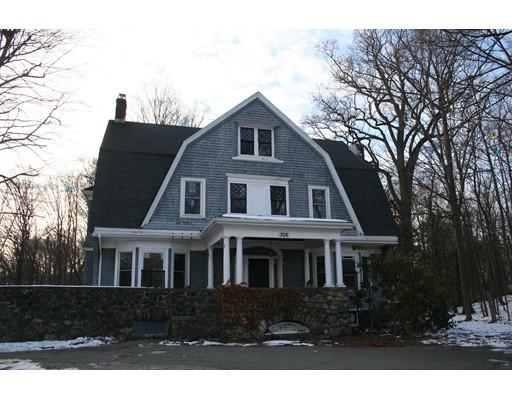 Single Family Home for Sale at 306 Lexington Street 306 Lexington Street Waltham, Massachusetts 02452 United States