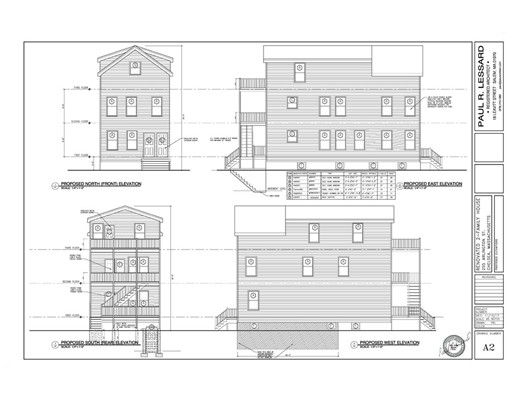 Casa Multifamiliar por un Venta en 255 ARLINGTON STREET 255 ARLINGTON STREET Chelsea, Massachusetts 02150 Estados Unidos
