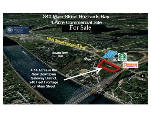 Land for Sale at 340 Main Street 340 Main Street Bourne, Massachusetts 02532 United States