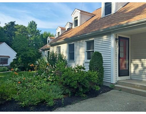 Casa unifamiliar adosada (Townhouse) por un Alquiler en 10 Church St #3 10 Church St #3 Duxbury, Massachusetts 02332 Estados Unidos