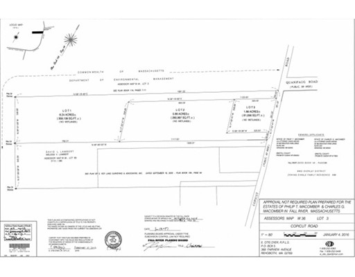 土地,用地 为 销售 在 Copicut Road Fall River, 02722 美国