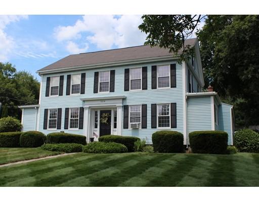 独户住宅 为 销售 在 524 Main Street Sturbridge, 马萨诸塞州 01518 美国