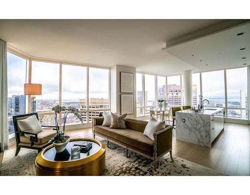 Condominio por un Alquiler en 1 Franklin Street #5005 1 Franklin Street #5005 Boston, Massachusetts 02110 Estados Unidos