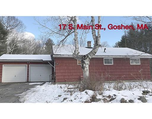 Single Family Home for Sale at 17 S Main Street 17 S Main Street Goshen, Massachusetts 01032 United States