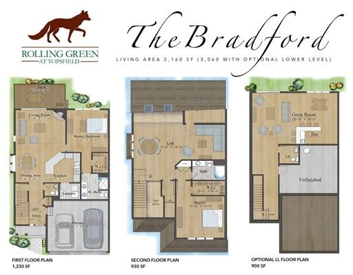 Condominio por un Venta en 470 Boston Street #2 470 Boston Street #2 Topsfield, Massachusetts 01983 Estados Unidos