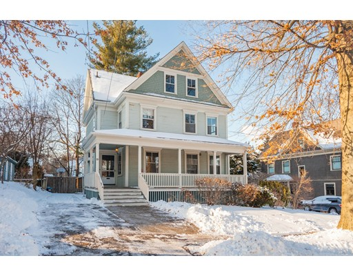 Single Family Home for Sale at 35 Myrtle Street 35 Myrtle Street Belmont, Massachusetts 02478 United States