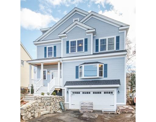 Частный односемейный дом для того Продажа на 131 Wright Street 131 Wright Street Arlington, Массачусетс 02474 Соединенные Штаты