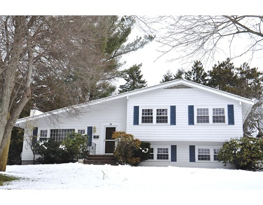 Single Family Home for Rent at 28 Phillips Brooks Road Westwood, Massachusetts 02090 United States