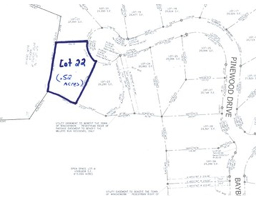 Land for Sale at 22 Pinewood Drive Winchendon, 01475 United States