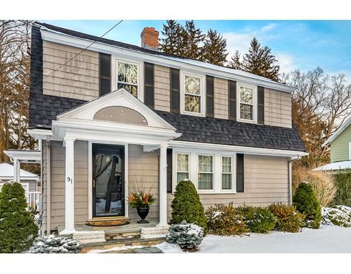 Частный односемейный дом для того Продажа на 91 ARDSMOOR ROAD 91 ARDSMOOR ROAD Melrose, Массачусетс 02176 Соединенные Штаты