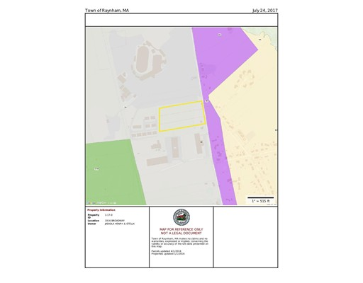 Land for Sale at 1916 Broadway Raynham, Massachusetts 02767 United States