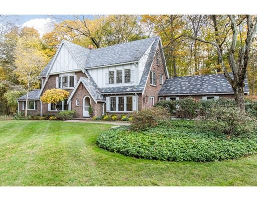 Single Family Home for Sale at 99 Love Lane 99 Love Lane Weston, Massachusetts 02493 United States