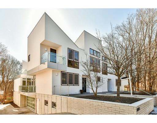 Appartement en copropriété pour l Vente à 1192 Beacon #A 1192 Beacon #A Newton, Massachusetts 02468 États-Unis