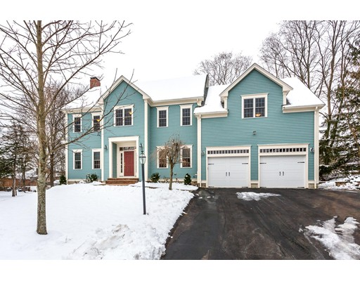 Beautiful & Spacious 5 Bedroom Colonial that has been Fully Updated and Meticulously Maintained and is located in one of Canton's most sought after neighborhoods. Features include an open floor plan boasting a custom granite & stainless kitchen w/ center island, separate dining area & pantry, adjoining front to back fireplaced family room w/ slider to a 4 season sunroom w/ tile floor, formal dining room w/ gorgeous detail molding, master suite w/ walk in closet & private full bath w/ Jacuzzi tub & separate tile shower w/ glass door, fully finished walk out lower level w/ large gameroom, full BA & wet bar - great for possible in-law or aupair set up. Other amenities & recent updates include new roof, new hardwood floors, freshly painted interior, central air, wired for surround sound, oversized 2 car garage w/ new doors, spray foam insulation, wired for generator & much more. Fantastic location - Only steps to the Hansen Elementary / Galvin Middle Schools & just minutes to Rt 93/95/128