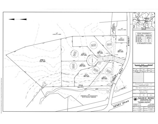 Land for Sale at West Street West Street Berlin, Massachusetts 01503 United States