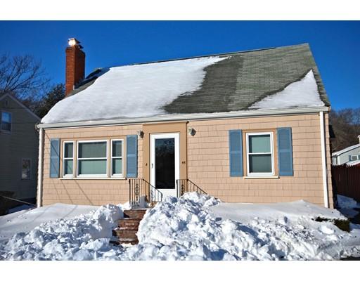独户住宅 为 销售 在 45 Rockwood Street 45 Rockwood Street Holbrook, 马萨诸塞州 02343 美国