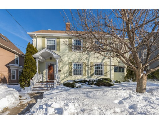 Picture 5 of 17 School St  Melrose Ma 4 Bedroom Single Family