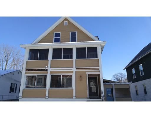 Single Family Home for Sale at 20 James 20 James Holyoke, Massachusetts 01040 United States