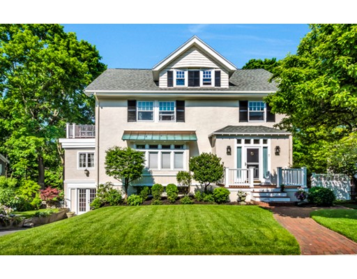 Picture 1 of 7 Edgehill Rd  Winchester Ma  6 Bedroom Single Family#