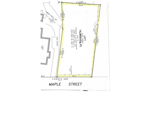 Земля для того Продажа на 74 Maple Street 74 Maple Street Northampton, Массачусетс 01062 Соединенные Штаты