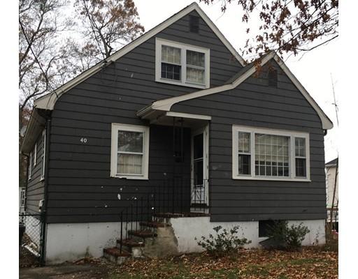 Single Family Home for Sale at 40 Tarbox Street 40 Tarbox Street Dedham, Massachusetts 02026 United States