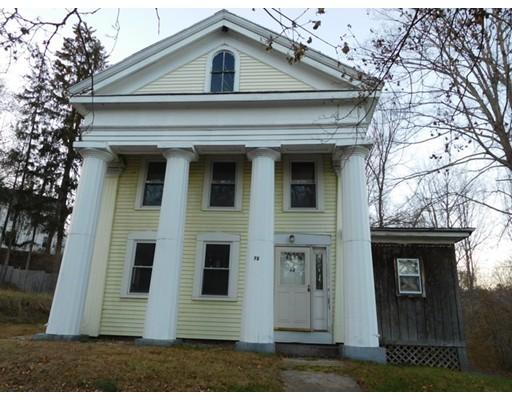 واحد منزل الأسرة للـ Sale في 72 Maple Street 72 Maple Street Warren, Massachusetts 01083 United States