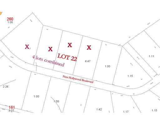 Land for Sale at New Hollywood Boulevard New Hollywood Boulevard Otis, Massachusetts 01253 United States