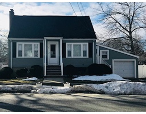 Single Family Home for Rent at 125 Pond Street 125 Pond Street Stoneham, Massachusetts 02180 United States
